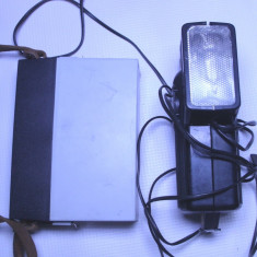 Blitz alimentator portabil convertor invertor convertizor aparat foto vechi - Echipament Foto Studio