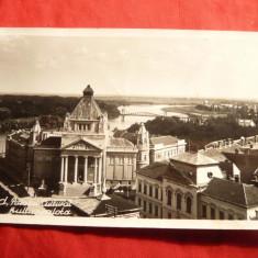 Ilustrata ARAD - Palatul Cultural, interbelica - Carte Postala Transilvania dupa 1918, Necirculata