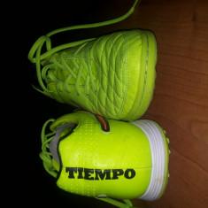 Pantofi sport barbati 485 Nike Tiempo Legacy IC ORIGINALI - Adidasi barbati Nike, Marime: 41, Culoare: Verde