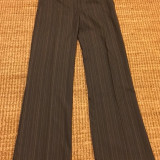 Pantaloni dama Vero Moda, noi, mas. 38, Lungi, Bumbac