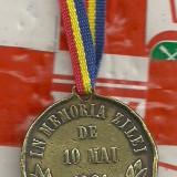 IN MEMORIA ZILEI DE 10 MAI 1881-rara - Medalii Romania