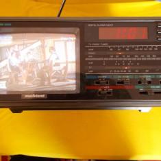 Televizor CRT - TELEVIZOR COLOR RADIO, CEAS MARCA MUSIKLAND MODEL 31-30886, FUNCTIONEAZA SI AUTO
