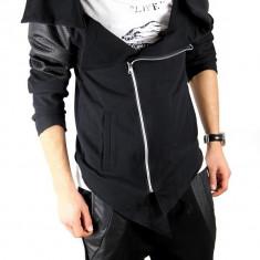 Hanorac tip ZARA fashion negru - hanorac barbati - cod produs: 3725