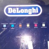 Espressor Delonghi - Espressor Manual Delonghi, Cafea macinata, Cappuccino, 3.5 bar, 1700 W