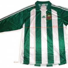 Tricou echipa fotbal, Nationala, Rapid Bucuresti, Maneca lunga - Bluza fotbal ADIDAS RAPID Clima Lite originala (L spre XL) cod-171166