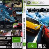 Joc original Test Drive Unlimited pentru consola XBOX360 - Jocuri Xbox 360, Curse auto-moto, Toate varstele, Multiplayer
