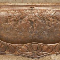 Metal/Fonta - Tava soba din fonta veche in stare perfecta