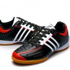 Adidasi Fotbal de Sala - Laptenis (44EU/10US marimea) - Ghete fotbal, Marime: <25, Culoare: Negru, Barbati, Sala: 1, Teren sintetic: 1
