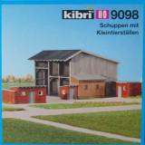 Hambar cu acareturi, Kibri HO 9098, Scara HO(1:87) - Macheta Feroviara Alta, Accesorii