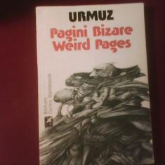 Urmuz Pagini bizare/Weird Pages, ilustratii Ion Mincu - Carte de lux