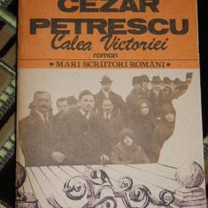 SALT - CALEA VICTORIEI - CEZAR PETRESCU - EDITATA IN 1985 - Roman