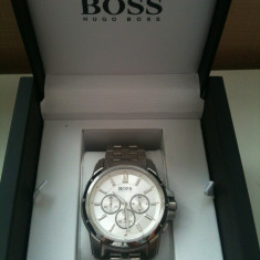Ceas boss original sua - Ceas barbatesc Hugo Boss, Lux - elegant, Quartz, Inox, Cronograf