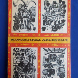 MONASTIREA ARGESULUI ( BALADE POPULARE ) * ILUSTRATII ANTON PERUSSI - 1969 - Carte poezie