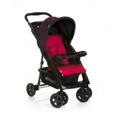 Carucior Shopper Comfortfold Black Red - Carucior copii 2 in 1 Hauck