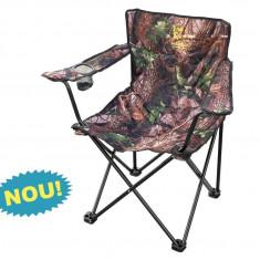 Scaun pliant #4 camuflaj Baracuda ideal pentru pescuit si iesit la iarba verde!