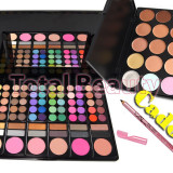 Trusa make up - Trusa farduri 78 culori neutre cu pudra si blush Fraulein + 15 Concealer + CADOU