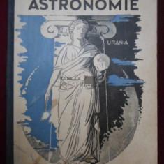 Astronomie Traian Popp 1935 - Carte Astronomie