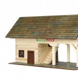 Set de construit case casute din lemn SOPRON jucarie eco walachia shed lego wood - Jocuri Seturi constructie
