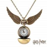 Pandantiv inox - Ceas Pandantiv Elegant Casual Harry Potter Quidditch Golden Snitch Pocket CALITATE GARANTATA | PESTE 3000 CALIFICATIVE POZITIVE | VANZATOR GOLD