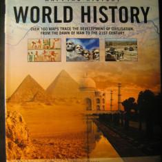 Atlas istoric - Istoria lumii - World history - in engleza