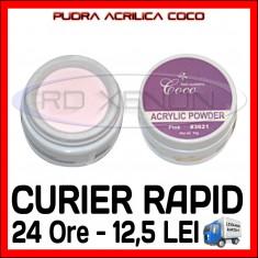 PUDRA ACRILICA COCO ROZ (PINK) COCO 15g - MANICHIURA UNGHII FALSE CU ACRYL
