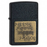 Bricheta Zippo 362 Black Cracke Gold BR