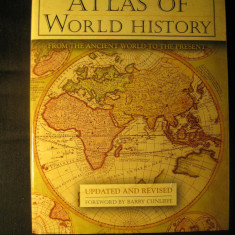 Atlas of world history - Atlasul istoric al lumii - in engleza
