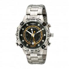 Ceas Timex Intelligent Quartz Adventure Series Tide Temp Compass Stainless Steel Bracelet Watch | 100% original, import SUA, 10 zile lucratoare - Ceas barbatesc