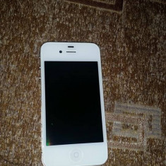 Vand iPhone 4 Apple impecabil de 16 GB, Alb, Neblocat