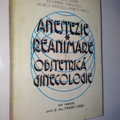 Anestezie - Reanimare in obstetrica si ginecologie - 1977 - Carte Obstretica Ginecologie