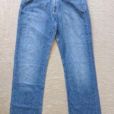 Blugi barbati - Blugi Armani Jeans Indigo, Eco-Wash, Made in Italy; marime 26; impecabili