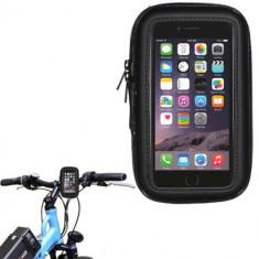 Suport bicicleta impermeabil waterproof Iphone 6 si folie ecran - Suport telefon bicicleta