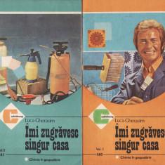 IMI ZUGRAVESC SINGUR CASA_Luca Gherasim - Carte Hobby Amenajari interioare