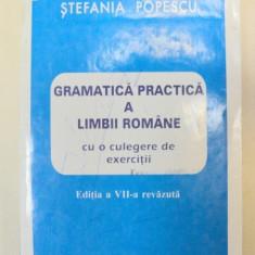GRAMATICA PRACTICA A LIMBII ROMANE - STEFANIA POPESCU EDITIA A VII-A REVAZUTA - Studiu literar