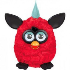Surpriza Kinder - Jucaria Furby - interactioneaza cu telefoane IOS si Android - culoare rosu
