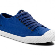 Tenisi PEPE JEANS LONDON Saygon nr. 44, InCutie, COD 173 - Tenisi barbati Pepe Jeans, Culoare: Albastru, Textil