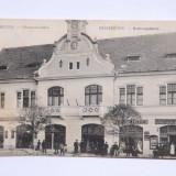 Reghin,primaria orasului si trei magazine sasesti.Circulata,1913.Mega reducere!