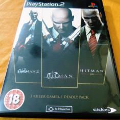 Joc Hitman Triple Play, PS2, original, 49.99 lei(gamestore)! - Jocuri PS2 Eidos, Actiune, 18+, Single player