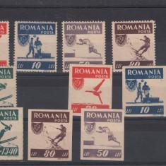 Timbre Romania, Nestampilat - ROMANIA 1946, LP 169, SERIE MNH - LOT 0 RO