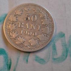 Monede Romania - 50 bani 1900 6 de colectie frumos