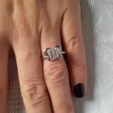 Inel argint 925 fluture, 46 - 56