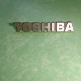 Emblema TOSHIBA 3, 1x0, 5cm pt receiver, amplificator, cd-player - Amplificator audio