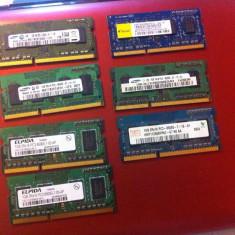 Memorie RAM laptop - Placute Ram Rami Laptop DDR3 1Gb - PC3-8500S / PC3- 10600S