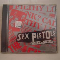Vand cd audio Sex Pistols-Filthy Lucre Live, original, raritate! - Muzica Rock virgin records