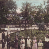 Romania, Maramures, carte postala circulata 1911: Baile sarate Pavel - Carte Postala Maramures 1904-1918, Circulata, Fotografie