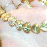 colier placat cu aur yves rocher, frantuzesc, masiv ideal pentru toamna!