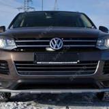 Prelungire bara fata VW Touareg 7P5 Rline 2010 2015 - Prelungire bara fata tuning, Volkswagen, TOUAREG (7P5) - [2010 - ]