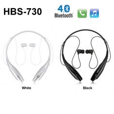 Casti PC - Casti cu bluetooth Wireless cu microfon stereo HBS 730 Mobile iPhone SAMSUNG HTC