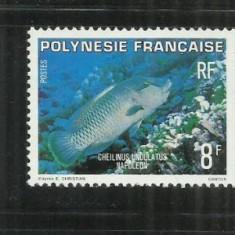 F 61 FAUNA - POLINEZIA FRANCEZA - SERIE NESTAMPILATA - Timbre straine