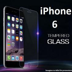 Folie de protectie Apple, Anti zgariere - FOLIE de STICLA Apple iPhone 6 / 6S 0.33mm, 2.5D tempered glass antisoc